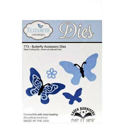 Elizabeth Crafts Designs Cutting Die Set ~ BUTTERFLY ACCESSORY DIES  Spring ~773