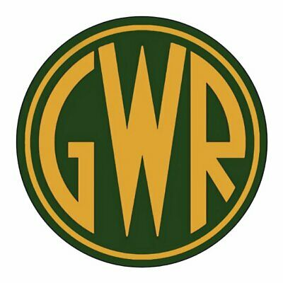GWR GREAT WESTERN RAILWAY STICKERS x 4 BRAND NEW DESIGN