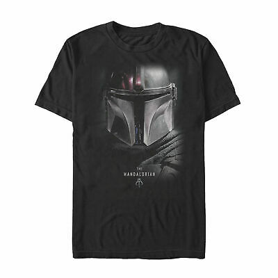 NEW Star Wars The Mandalorian Bounty Hunter Shadow Mens Graphic T Shirt S-3Xl