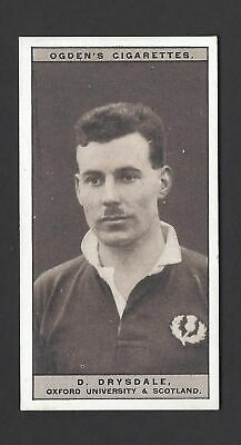 Ogdens - Famous Rugby Players - #17 D Drysdale, Oxford