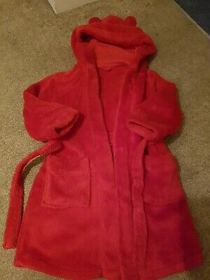 Mothercare Dressing Gown Aged 2 To 3 Girls or Boys