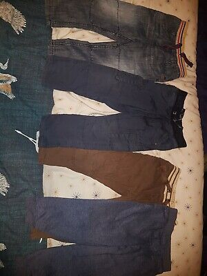 Boys Next Tu Jeans And Jogging Bottom Bundle Age 3-4 Years X4