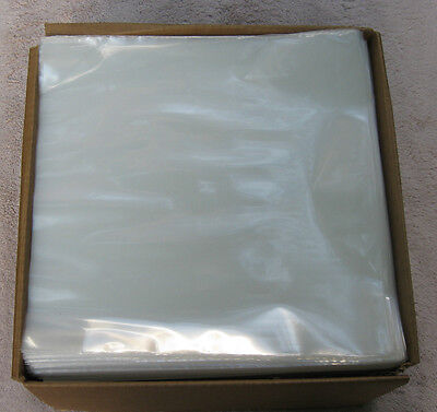 """New  100 Clear 3MIL Poly Outer Sleeves Fit Double/Triple 12"""" LP Record"""