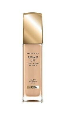 Max Factor Radiant Lift Long Lasting Radiance Foundation SPF30 (45)warm Almond