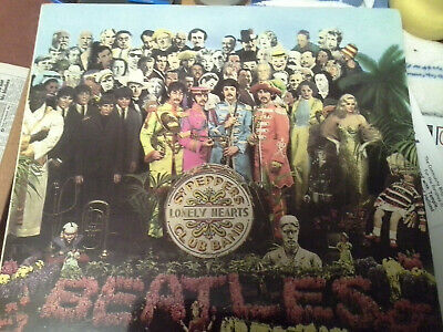 The Beatles- Sgt Peppers Lonely Hearts Club Band Vinyl LP Stereo