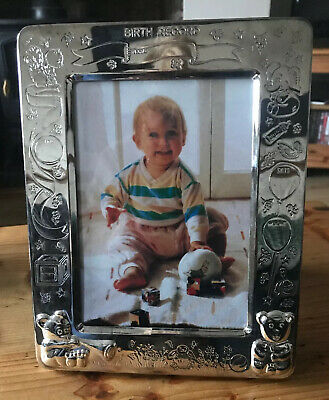 Silver Plated Photo Album Frame