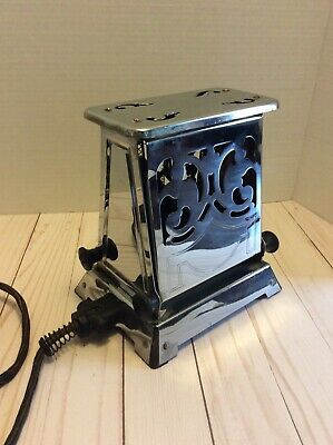 Antique Toaster General Electric Art Deco Working