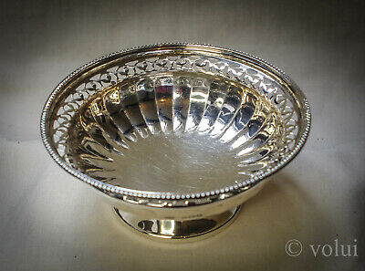 Antique Solid Silver Absolutely Stunning Mappin & Webb Sweet Dish Birmingham