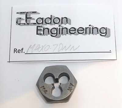 M4 x 0.7mm Metric Die Nut.