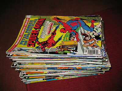 LOT of (60) PETER PARKER SPECTACULAR SPIDER-MAN (#1-58) COMIC BOOKS cgc