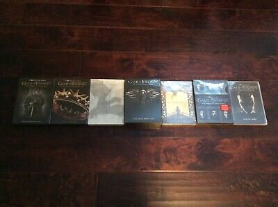 Game of Thrones: The Complete Individual DVD Sets (Seasons 1-7) New & Sealed