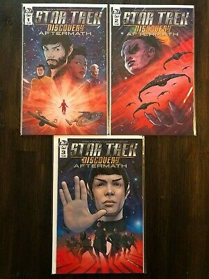 Star Trek: Discovery - Aftermath #1 to 3 NM 2019 Complete Series IDW 1st Prints