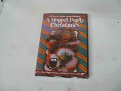A Muppet Family Christmas (DVD, 2001) still sealed FREE SHIPPING