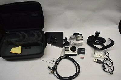 GoPro HERO4 Action Camera  - with accessories - 2 Batteries 32gb Card No LCD b7