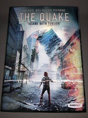 The Quake DVD 2019 Includes Slipcover FREE shipping Disaster EARTHQUAKE MOVIE