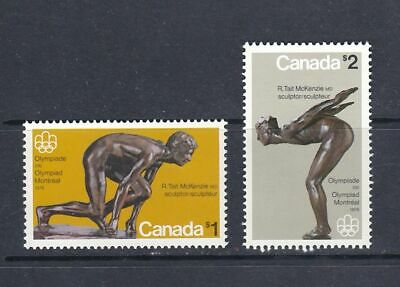 Canada - 1975 Olympic Sculptures - Scott 656 To 657 - Mnh