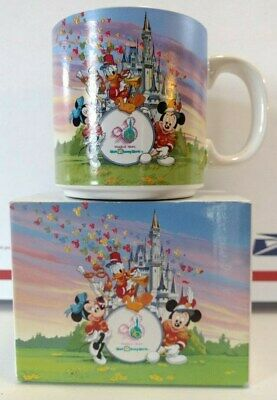 """VINTAGE""1991 Walt Disney World 20th Anniversary Coffee Mug Cup 20 Magical Years"