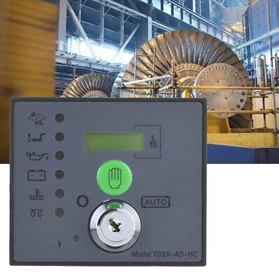 Generator Controller, Sturdy Durable DSE702AS Real-Time Control Electronic Auto