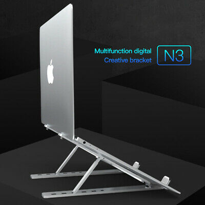 Durable Portable Foldable Notebook Laptop Desk Table Stand Bed Tray Max 15.6in