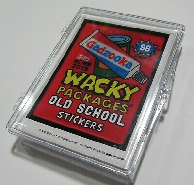 Wacky Packages Old School 8  Base Set 31 Cards Advertising Parody Topps Online
