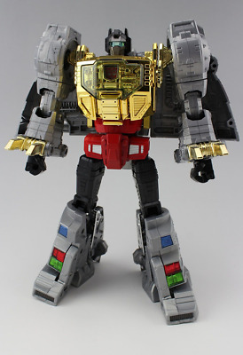 TRANSFORMERS DELUXE SET TOY MP-08 MASTERPIECE KING GRIMLOCK ACTION FIGURES