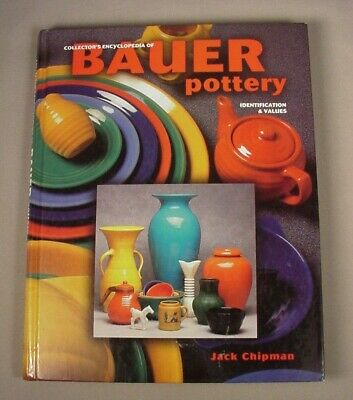 Bauer Pottery Reference Book Price Guide Antique Vintage Arts & Crafts
