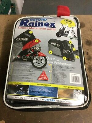 Oxford Small Rain Cover Ideal For Scooters NEW