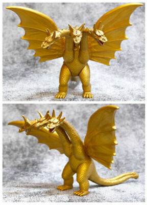 18cm King Godzilla Super Monster Ghidorah 3 Head Dragon Action Figures Kids Toy