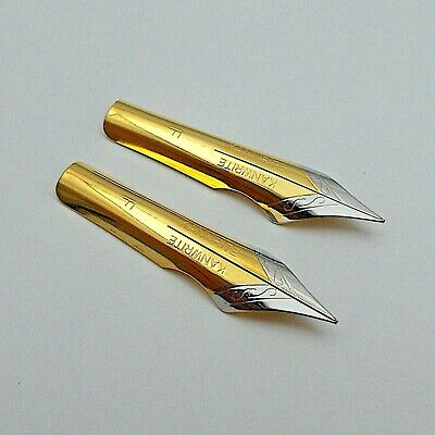 Set of 2  No.8 Indian Fountain Pen Nibs