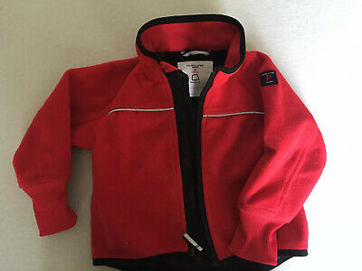 polarn o pyret Red Shell Jacket Boys Girls 9-12 Months