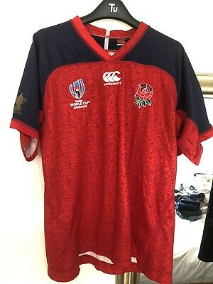 Men's England Rugby World Cup Japan 2019 Canterbury Alternate Pro Shirt Large