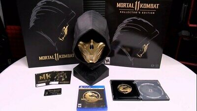 Ps4 Mortal Kombat 11 Kollector Edition Brand New & Sealed Rare Sony Playstation