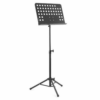 Tiger Orchestral Music Stand - Fully Adjustable Sheet Music Stand, Black
