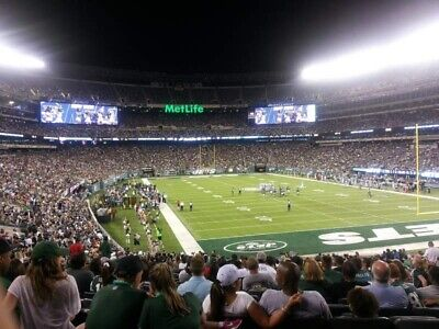 (2) Lower Levels Tickets New York Jets Vs Miami Dolphins 12/8 1:00 Pm Metlife