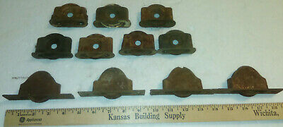 Vintage Lot Of 11 Window  Pulley Hardware Salvage