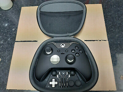 Official Microsoft Xbox one Elite Black wirless controller  Pre owned 8