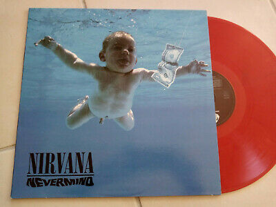 NIRVANA Nevermind LP Vinyl couleur
