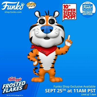 Tony The Tiger 10 Inch Limited Edition Funko Pop *Mint Condition*  #70