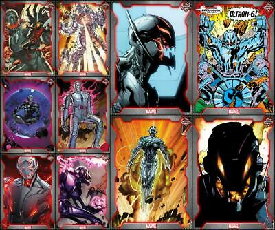 Topps Marvel Collect TOPPS SHOWCASE ULTRON [10 CARD Limited SET]