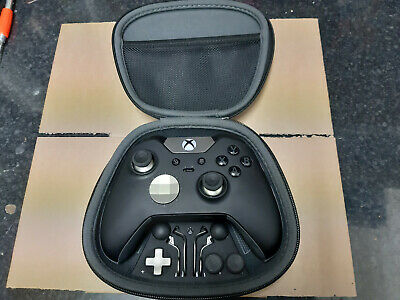 Official Microsoft Xbox one Elite Black wirless controller  Pre owned 10