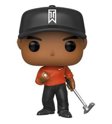 PoP! Golf: Tiger Woods (Red Shirt) FREE PROTECTOR