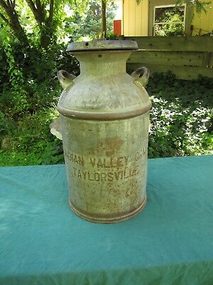 Vintage Indian Valley Creamery Milk Can