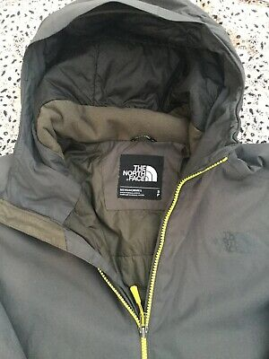 THE NORTH FACE - Hyvent - Dark Grey - Two Pocket - Zip Up - Hooded - Jacket - S