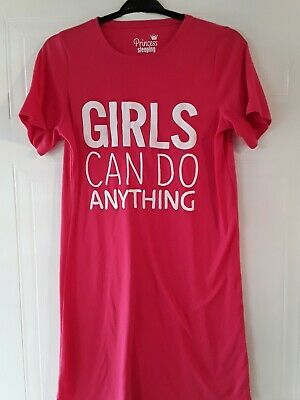 Girls Matalan Princess Sleeping Pink Nightdress Age 16 Years 100% Polyester