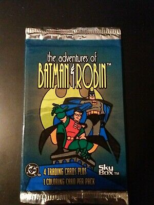 The Adventures if Batman and Robin Trading Card Pack