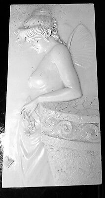 latex mould for making Lovely Fairy plaque