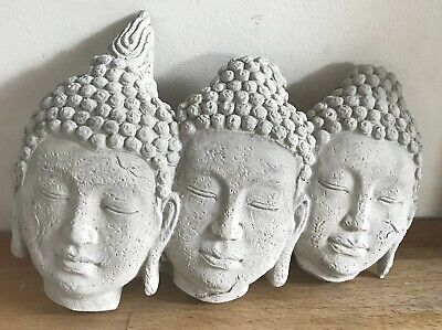 Latex mould for making Rustic Style Buddha Plaque