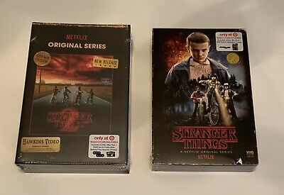 Stranger Things Season 1 And 2 Collectors Edition Blu Ray And Dvd Set Lot Of 2
