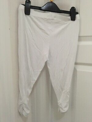 Girls Next White Leggings Age 9 New With Tag