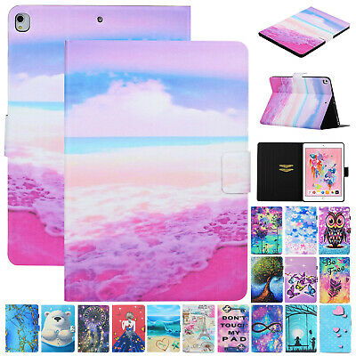"""For iPad 7th Gen 10.2"""" 2019 Smart Magnetic Flip Leather Wallet Stand Case Cover"""